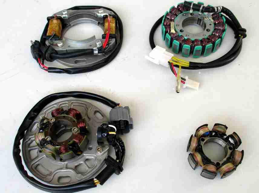 ATV-Quad-Zünd/Lichtspulen/Generatoren