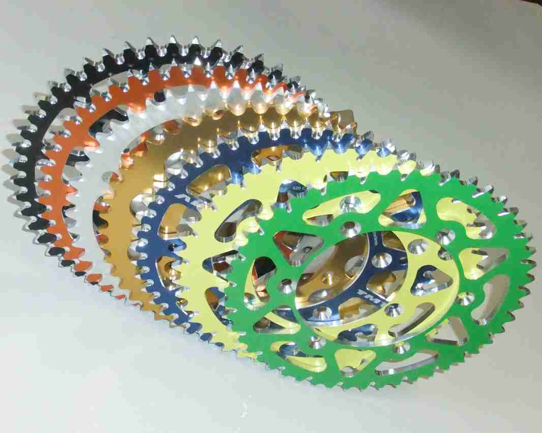 Rear Sprockets aluminium