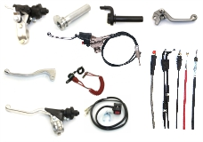 Lever/Clamp/Cable/Stop switch/Gas handle