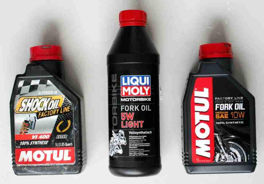 Frontfork oils