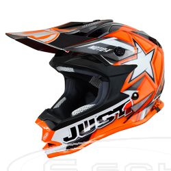 JUST1 HELMET J32 PRO KIDS MOTO X RED 52-YS
