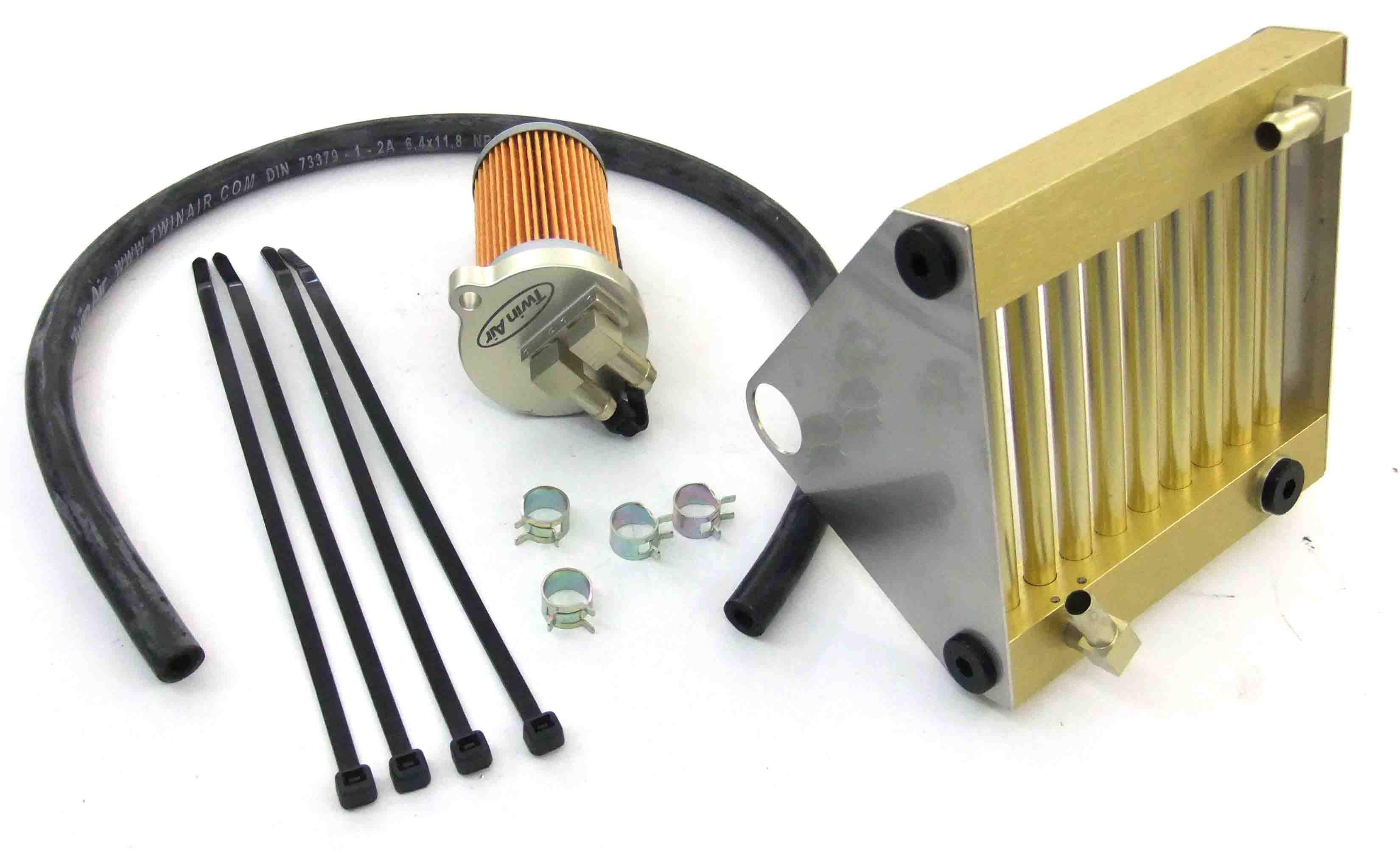 Twin Air Engine Oil Cooler : Twin air oil cooling system premium for extreme operating
