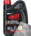 VROOAM ENGINE OIL 100%-SYNTHETIC PAO-ESTER 4T 10W50, 4L CAN